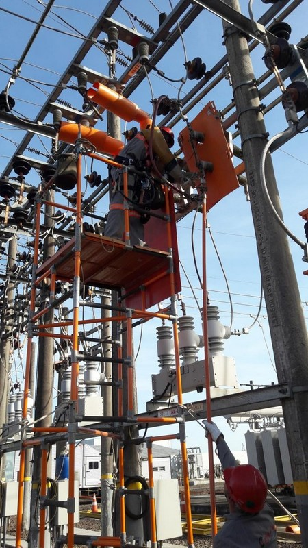RECICLAGEM MANUTENÇÃO SUBESTAÇÃO ENERGIZADA