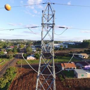 Esfera de sinalização linha de transmissão
