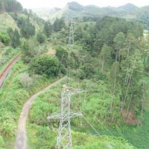 Faixa de servidão linha de transmissão 138 kv