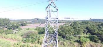 Inspeção detalhada em linhas de transmissão 69 kv